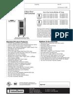 Traulsen RHT-AHT Reach in Refrigerator WUT Glass Door