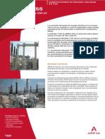 Subestaciones Blindadas Aisladas en Gas (GIS) - Hasta 550 KV