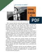 Novo governo vai cacarejar ou zumbir?.pdf