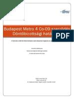Döntőbizottság (DAB) döntés, BKV-Siemens