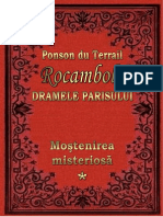 Terrail Ponson Du - 01 - Dramele Parisului - Mostenirea Misterioasa Vol. 1