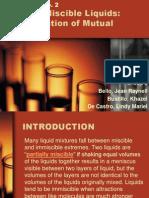 Partially Miscible Liquids