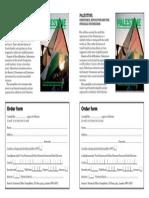 Order Form for Palestine Pamphlet