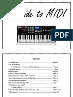A Guide to MIDI