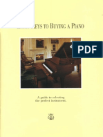 Eight Keys to Buying a Piano