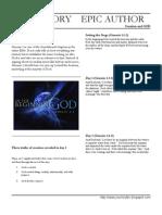 EPEA 01 Creation and God