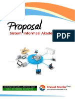 Proposal Penawaran Sistem Informasi Akademik
