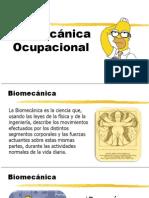 Biomecánica General - Ergonomía (2).ppsx