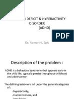 IT 5 - Gangguan Perkembangan Pervasif (ADHD) - RIS
