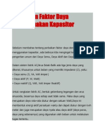 Perbaikan Faktor Daya Menggunakan Kapasitor.docx