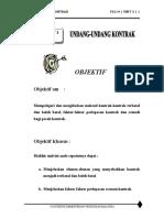 unit 3 - undang-undang kontrak