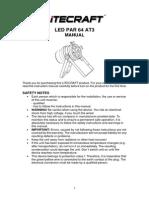 Led Par 64 At3 Manual English v2.0