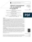 Defining Qualitative Management Research an Empirical Investigation