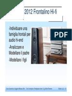 Esercizio Hi -Fi -Frontalino Famiglia Di Parti