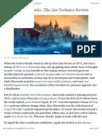 OS X 10.10 Yosemite Review