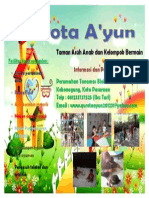 Brosur TPA Qurota A'yun Kota Pasuruan