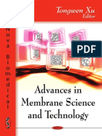 Advances in Membrane Science and Technology