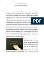 ARTIGO - Debate crítico sobre la Estética Relacional.docx
