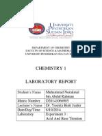 SKU Lab Report Experiment 3 D20141066961