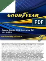 Goodyear Tire Q22014 Earning Presentation