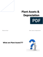 Plant Asset & Depreciation