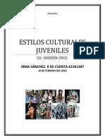 TAREA DE SOCIO ,ESTILOS CULTURALES JUVENILES.docx