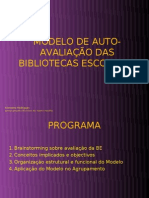 Power Point Auto-Avalliacao Bib[1]