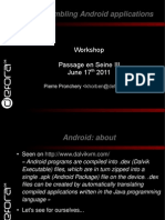 Disassembling Android Applications