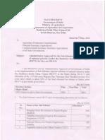 Admin Approval 2014-15 Sub-Scheme