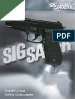 SIG P-226 Owner's Manual