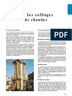 les coffrages de chantier