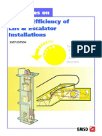 Guidelines on Energy Efficiency of LiftnEsc Installations 2007