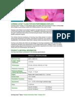 Corning Lotus Glass product information sheet.pdf