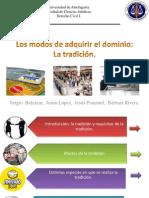 Exposición Tradición Derecho Civil. final.pptx