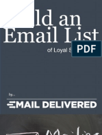 Email List Building Steps