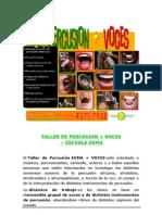 Escuela Euma - Talleres de Percusion + Voces 2009-2010