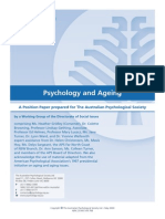 Position Paper Ageing