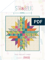 Astrodelic Quilt Free Instructions
