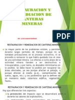 13. RESTAURACION Y REMEDIACION DE CANTERAS MINERAS.pdf