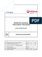 WINNIPEG SEWAGE Treatment Program