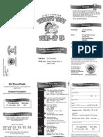 Turkey Trot Tune-Up Brochure PDF