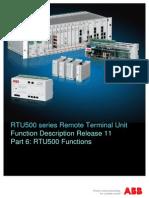 E500 FD Rel11 Part6 RTU Functions