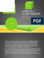 Jumbled & Close Passage
