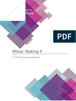 Making Africa Value Added in Africa Report