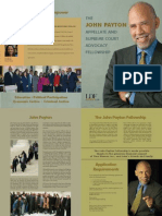 John Payton Appellate and Supreme Court Advocacy Fellowship Brochure