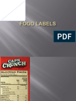 Food Label-Cell Unit