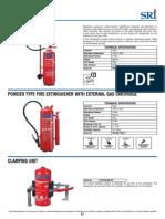 Extintor Clase D