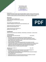 website before ex 1 resume