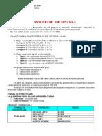 Elastomeri de Sinteza,Tiocauciucuri, Polisufurici, Elastomeri Siliconici, Polieterii, Gume Cauciucuri, Proprietati Indicatii