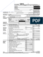Eric Lesser & Alison Silber - 2013 Joint Tax Return